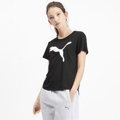 PUMA Damen Evostripe Tee T Shirt
