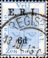 Cape of Good Hope 1893 SG 58 Hope Standing Fine Used    SG 58 Scott 59 Other African Stamps HERE