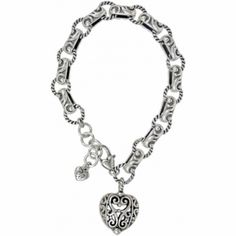 Bibi Heart Bracelet  available at #Brighton I have worn this bracelet almost everyday for 2 and a half years.