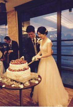 ウェディングケーキ♡