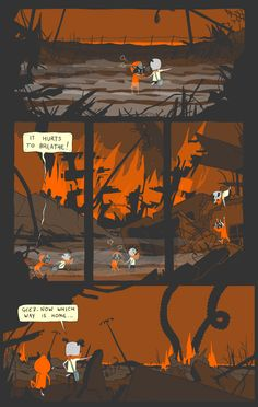 THUNDERPAW: lovely, semi-animated online comic.