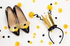 Preparadas para o carnaval? Que tal se inspirar na natureza e criar uma linda e simples fantasia de abelha?
