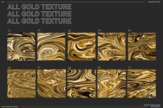 50% off | LIQUID GOLD texture pack by MAX_toolbox