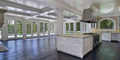 Amazing open living hamptons glass doors