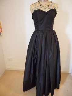 Vintage Ball Gown by Peaceloveheart on Etsy, $125.00