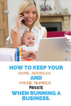 Keep Home Address and Phone Number Private