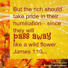 """Trust Him Always is a ministry of spiritual encouragement. Help me spread God's Word by clicking """"LIKE"""" and sharing with. Book Of James, James 1, Love Letters, Bible Verses, Trust, Lord, Faith, Bible Journal, School"""