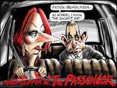 """Peter Slipper in """"The Passenger"""""""