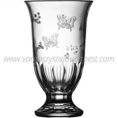 Springtime Clear Footed Vase 12' 375€