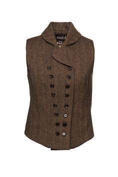 Darcy Waistcoat - Waistcoats - Clothing   Moloh Redefining British Style