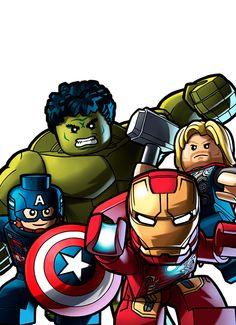 Lego Marvel's Avengers, Avengers Birthday, Avengers Age, Lego Batman, Ms Marvel, Marvel Comic Universe, Marvel Heroes, Avenger Party, Captain America