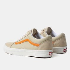 Vans Old Skool Shoes - (vintage) Pale Khaki sun f470c2b5e