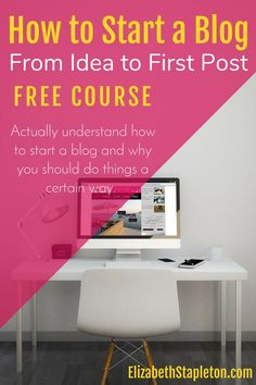 start a blog | how to blog | free blogging course
