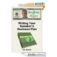 Any professional speaker needs a business plan - this book shows you how  http://gjurl.com/j