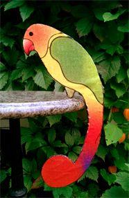 MAMMI MIA! Kiikkuva papukaija DIY-ohje MAMMI MIA! Swinging parrot DIY tutorial