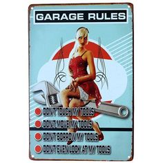 Free Shipping! Metal signs from BigWallPrints.com are a quick, affordable way to give any room a vintage feel! Our signs make ideal decorative accessories for your bar, pub, kitchen, garage, office, o