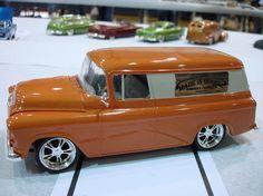 55 Chevy Suburban Custom.