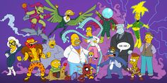 Pic: Los Simpson - Spider-Man Mash-Up | DiosCaficho.Com