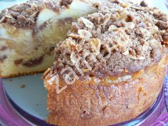 Apple Cake - Κέικ Μήλου Apple Cake, Sweet And Salty, Banana Bread, French Toast, Recipies, Sweets, Breakfast, Desserts, Greek Recipes