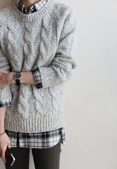 sweater/flannel: