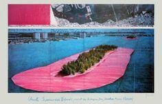 Christo, les îles de la baie de Biscayne à Miami