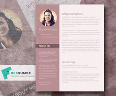 The fierce competition in the job market necessitates a resume that could effectively draw attention to your marketing document. With the help of this photo CV template, you will easily