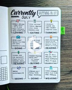 The super fun part of your bujo is the trackers and collections! Choose from our HUGE list of bullet journal ideas 2019. So many things to track in your bullet journal you might not have thought of! #bulletjournal Bullet Journal Tracker, Bullet Journal Monthly Log, Bullet Journal Spreads, Bullet Journal Notebook, Bullet Journal Inspo, Bullet Journals, List Of Bullet Journal Pages, Bullet Journal Inspiration Creative, Bullet Journal For Kids