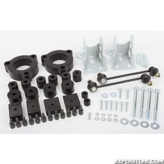 Kit suspension rehaussé +1.5'' (+3.80cm) Jeep Renegade BU