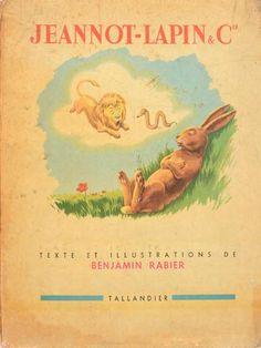(+/69/78/82/86) Benjamin Rabier 5 albums (mauvais état) :  Les images