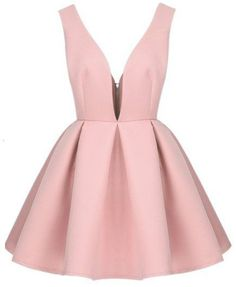 short Prom Dresses ,prom gown,short prom dress, blush pink homecoming dress