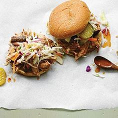 Pulled Pork Barbecue Sandwiches | MyRecipes.com