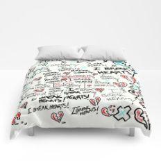The Art of Breaking Hearts  Comforters