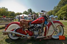 VINTAGE INDIAN  Wow!! A monster on weel's