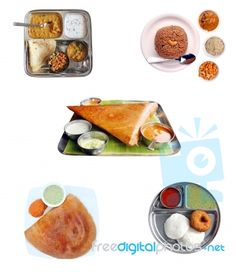Free hindu items | Indian Breakfast Items Stock Photo - Royalty Free Image ID 10084857