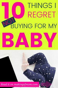 Of all the stuff I bought for my first baby there were quite a few I thought I could do without. We were on a budget after all! Here are the 10 must have baby things I regret not buying for my little boy. so you don't make the same mistake! Check it out Babies First Year, First Baby, Baby Baby, First Pregnancy, Pregnancy Tips, Birth Hospital Bag, Minimalist Baby, Baby On A Budget, Getting Ready For Baby