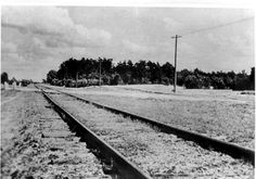 Treblinka - 77 years since Nazi death camp began operations Work Camp, Warsaw Ghetto, Uk Homes, Red Army, Train Tracks, Small Towns, Ww2, Prison, Photo Credit