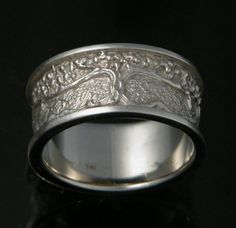 Tree of Life Custom Wedding Ring. $1,734.00, via Etsy.