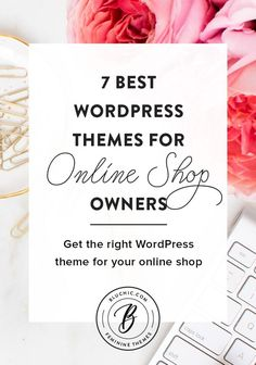 As an online shop owner, we know how important a great WordPress theme can be for your shop. We share 7 WordPress themes that are perfect for online shop owners.