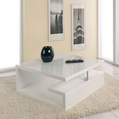 Table basse - L90xP90xH38 cm GENES