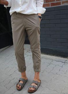 39 ideas how to wear birkenstock casual fashion Style Casual, Casual Chic, Style Me, Casual Outfits, Summer Outfits, Fashion Outfits, Fashion Fashion, Estilo Boyish, Estilo Tomboy