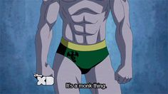 """Iron Fist ultimate spider man """"It's a monk thing."""""""