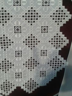 Hardanger Embroidery, Cross Stitch Embroidery, Embroidery Patterns, Hand Embroidery, Sewing Patterns, Brazilian Embroidery, Bargello, Needful Things, Cutwork