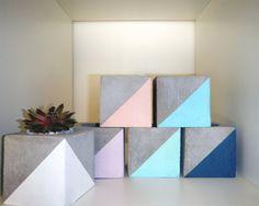 Square Concrete Planter                                                       …