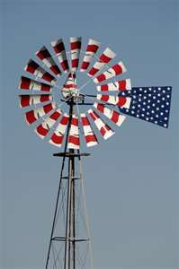 0508 wind 8918 nef red white blue painted aermotor windmill ks 2005 ...