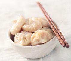 Tibetan Veggie Momos:  For Dough        * 1 ½ cups all-purpose flour      * 1 teaspoon Salt      * 1 teaspoon Baking powder    For the filling        * ½ head of medium sized Cabbage      * 3-4 medium Carrots      * 1 Radish      * Ginger garlic paste      * Soy sauce      * Vinegar