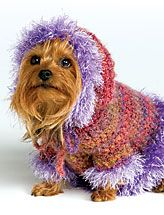 Crochet dog. Too cute! I need to figure out how to do this one.