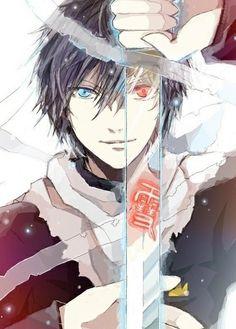Noragami Yato with Sekki/Yukine