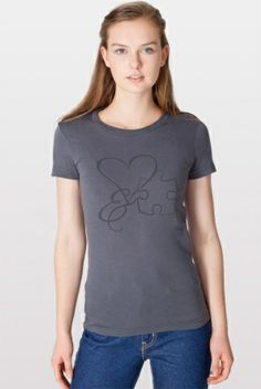 "National Autism Association Love and ""Piece"" Tee diff color? Blue maybe?"