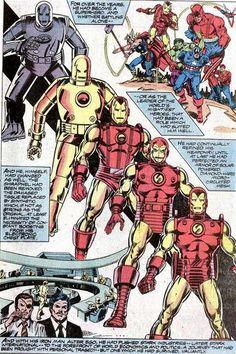 Iron Man, the armors...