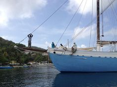 Anchored in Bequia